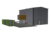 The $99,000 shipping container house