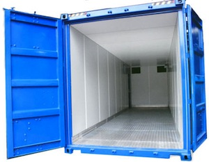 Insulated shipping container picture