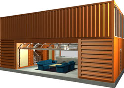 Shipping Container House Plans on Adam Kalkin Is An Architect Who Also Has Several Projects   Among