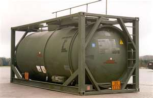 20 foot tank shipping container