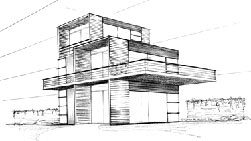 container house drawing