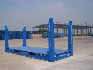 20 foot flat rack shipping container