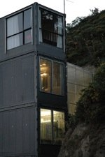 three level shipping container house